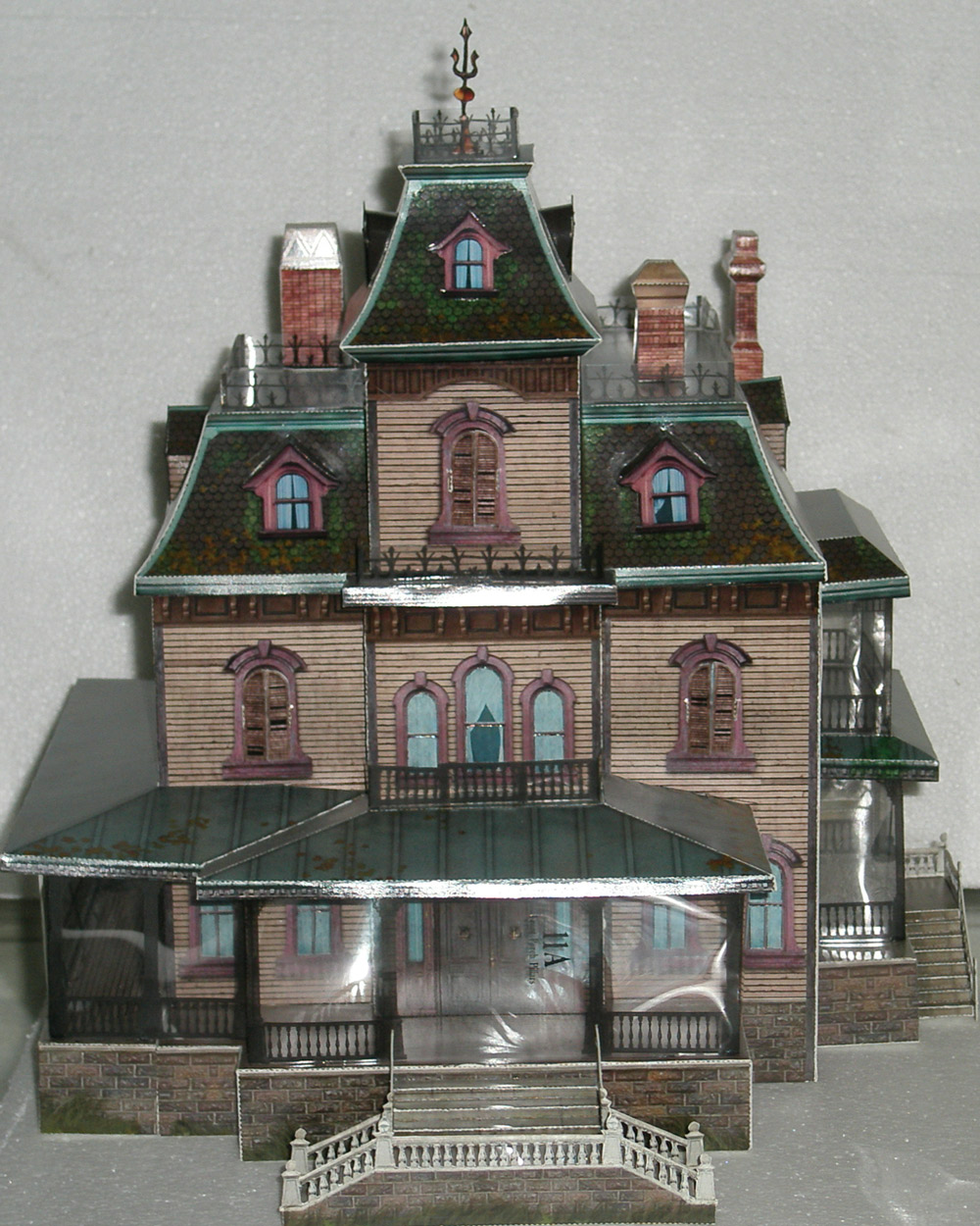 It is a picture of Free Printable Model Buildings pertaining to paper toy