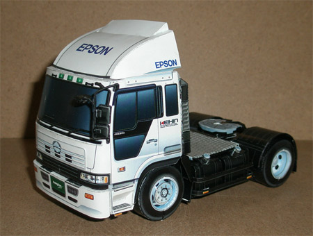 Truck Paper Models Free | pdf download