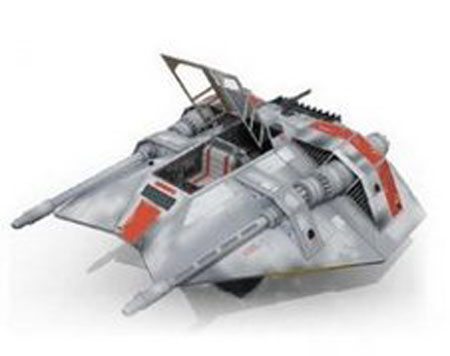 Spaceship Papercraft